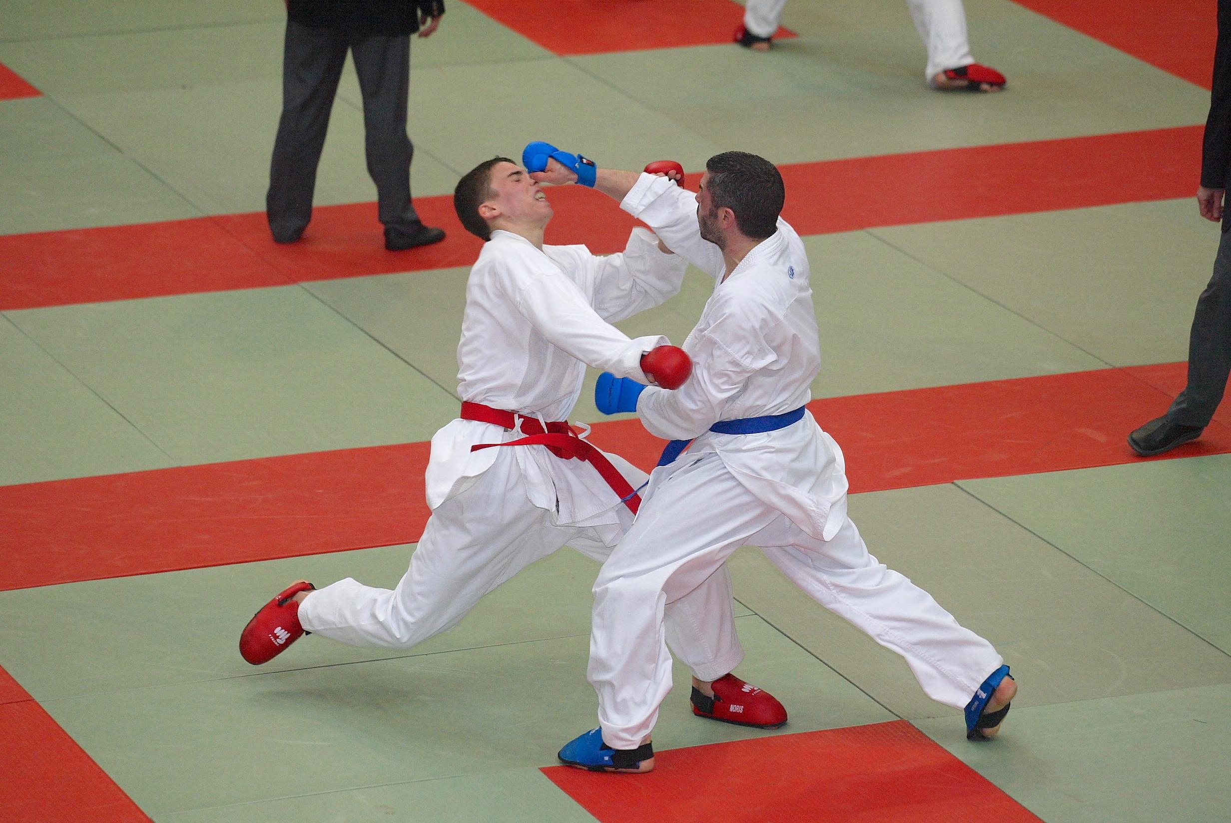 karaté combat