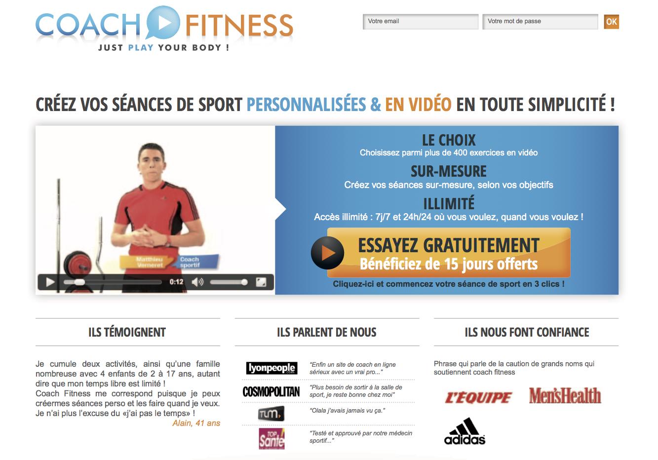 coach fitness matthieu verneret